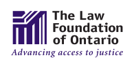 The Law Foundation of Ontario Access to Justice Fund